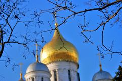 kreml Moscow Kolor fotografia Zdjęcia Royalty Free