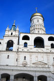 kreml Moscow Unesco Światowego Dziedzictwa Miejsce Ivan Wielki Dzwonkowy wierza Zdjęcia Royalty Free