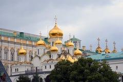 kreml Moscow Unesco Światowego Dziedzictwa Miejsce Zdjęcia Stock