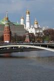 kreml Moscow Unesco Światowego Dziedzictwa Miejsce Fotografia Stock
