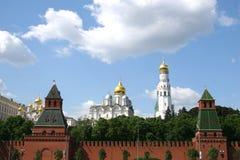 kreml Moscow wieży Fotografia Royalty Free