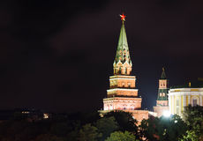 kreml Moscow wieży Obrazy Royalty Free