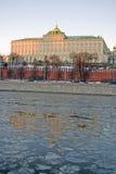 kreml Moscow wielki Kreml pałacu Kolor fotografia Obrazy Stock