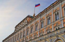 kreml Moscow wielki Kreml pałacu błękitne niebo tła Zdjęcie Royalty Free