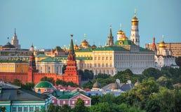 Kreml - Moskva, röd fyrkant Royaltyfri Bild