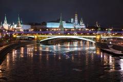kreml noc Fotografia Stock