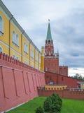 Kreml och den röda fyrkanten Arkivfoton
