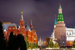 Kreml passage, sikten av Kreml Ryssland royaltyfri bild