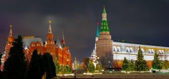 Kreml passage, sikten av Kreml arkivbild