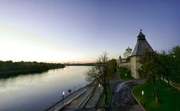 kreml Pskov Zdjęcia Royalty Free