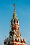 Kreml röd fyrkant i Moskva, Ryssland Arkivfoton