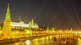 Kremlim evening light stock video footage