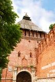 kremlin старый smolensk стоковое фото rf