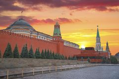 kremlin stock afbeelding