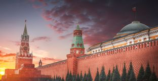 kremlin stock foto