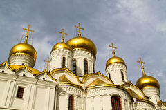 Kremlin. 's cathedral square in Moscow Royalty Free Stock Photography