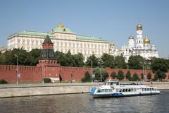 The Kremlin Royalty Free Stock Photo