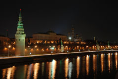 Kremlin. Kind to the Kremlin from the bridge Royalty Free Stock Photos
