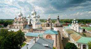 Kremlin of ancient town of Rostov the Great. Russia. Included in World Heritage list of UNESCO Royalty Free Stock Images