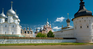 Kremlin of ancient town of Rostov The Great Royalty Free Stock Image