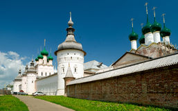 Kremlin of ancient town of Rostov The Great Stock Photos