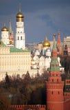 Kremlin and belfry of Ivan the Great Stock Photos