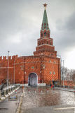 Kremlin. Borovitskaya Tower Royalty Free Stock Photos