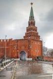 Kremlin. Borovitskaya Tower Royalty Free Stock Photos