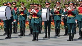 Kremlin brass band stock video