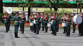 Kremlin brass band Royalty Free Stock Photo