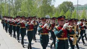 Kremlin brass band Royalty Free Stock Image