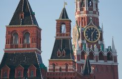 Kremlin Chimes Stock Photography