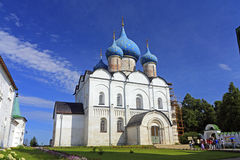 The Kremlin, Christmas cathedral Stock Photography