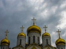 Kremlin Church, Moscow, Russia Stock Photos