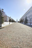 Kremlin of city Kazan by a sunny day Stock Images