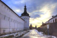 Kremlin of city Rostov. Evening Royalty Free Stock Images