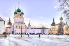 Kremlin of city Rostov Royalty Free Stock Images