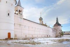 Kremlin of city Rostov Royalty Free Stock Photography