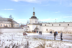 Kremlin of city Rostov Royalty Free Stock Photos