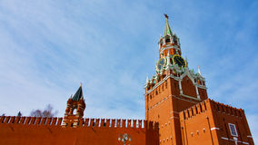Kremlin Clock Stock Photography