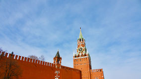 Kremlin Clock Royalty Free Stock Photo