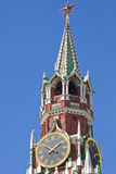 Kremlin clock tower Stock Image