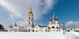 Kremlin complex in Tobolsk Royalty Free Stock Images
