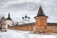 Kremlin da cidade Rostov Imagens de Stock