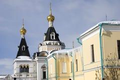 Kremlin dans Dmitrov, ville antique dans la région de Moscou Image libre de droits