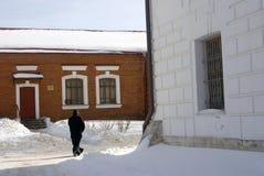 Kremlin dans Dmitrov, ville antique dans la région de Moscou Images libres de droits