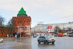 Kremlin dans Nijni-Novgorod, Russie Photo stock