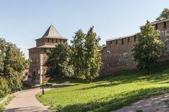 Kremlin dans Nizhny Novgorod Photos stock