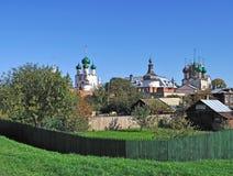 Kremlin dans Rostov le grand, Russie Photo stock
