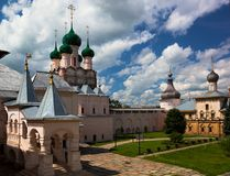 Kremlin dans Rostov Veliky. La Russie Photographie stock